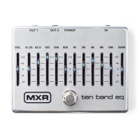 MXR Ten Band EQ pedālis