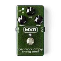 MXR M169 Carbon Copy Analog Delay pedālis