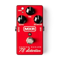 MXR 78 Custom Badass Distortion pedālis
