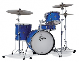 Akustiskis bungu komplekts Gretsch shell set Catalina Club Blue Satin Flame