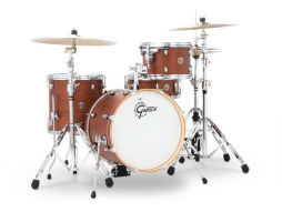 Akustiskis bungu komplekts Gretsch shell set Catalina Club Satin Walnut Glaze