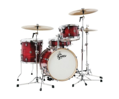 Akustiskis bungu komplekts Gretsch shell set Catalina Club Gloss Crimson Burst
