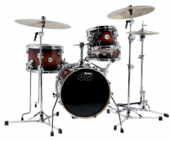 DRUM WORKSHOP SHELL SET DESIGN Tobacco Burst