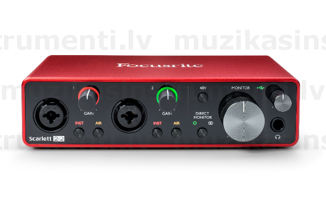 Focusrite Scarlett 2i2 3nd Gen Audio Interface