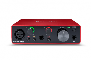 Focusrite Scarlett Solo 3nd Gen Audio Interface