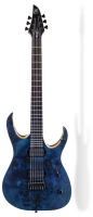 Elektriskā ģitāra Mayones Duvell Elite Dirty Blue