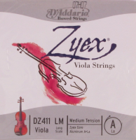 D'Addario Zyex 4/4, Medium Tension
