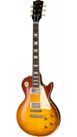 Elektroakustiskā ģitāra Gibson 60th Anniversary 1959 Les Paul Standard VOS Orange Sunset Fade