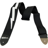 Gibson The Lightning Bolt Seatbelt Black
