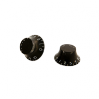Gibson Top Hat Knobs-4 pack Black