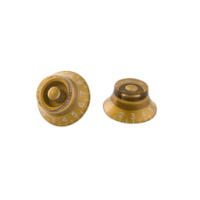 Gibson Top Hat Knobs-4 pack Vintage Gold