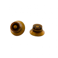 Gibson Top Hat Knobs-4 pack Vintage Amber