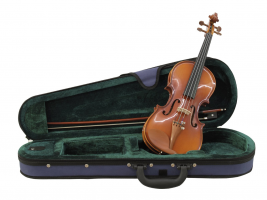 Violin 1/4 with bow in case