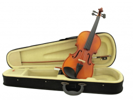 Violin 3/4 with bow in case