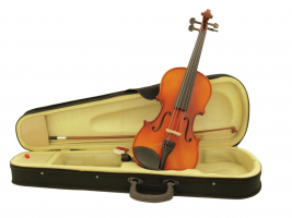Violin 4/4 with bow in case