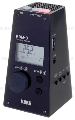 Korg KDM-3 Digital Metronome Black