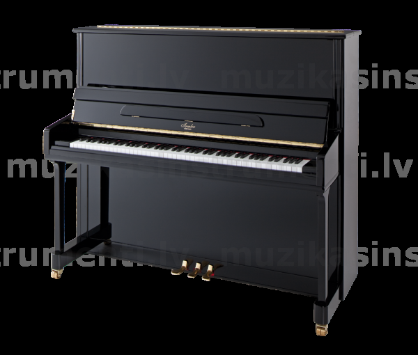Pianīns Blüthner Irmler P 132 Europe Black Polished