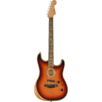 Elektriskā ģitāra Fender Acoustasonic Strat Acoustic/Electric Guitar In 3-Tone Sunburst
