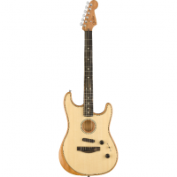 Elektriskā ģitāra Fender Acoustasonic Strat Acoustic/Electric Guitar In Natural