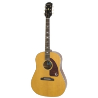 Epiphone USA Texan Acoustic Guitar in Antique Natural