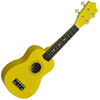UKULELE SOPRANO YELLOW MATT