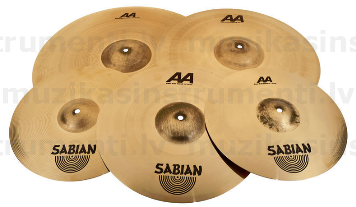 Sabian AA Raw Bell Promo Pack