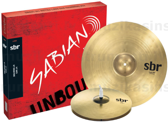 Sabian SBR Two Pack Cymbal Set