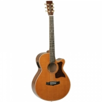 Tanglewood TW45 H E  semi-acoustic guitar