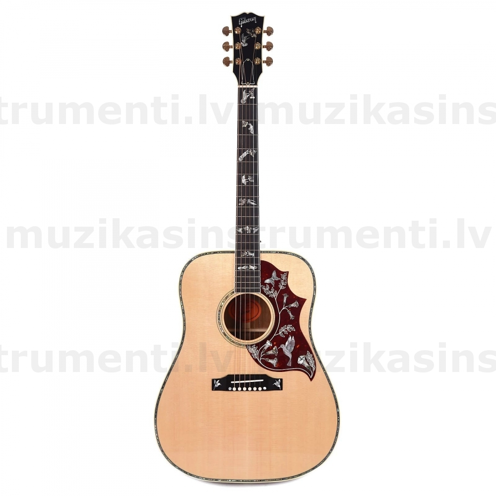 Gibson Hummingbird Custom Koa Antique Natural