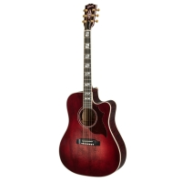 Elektro akustiskā ģitāra Gibson Songwriter Chroma Quilt Maple Black Cherry
