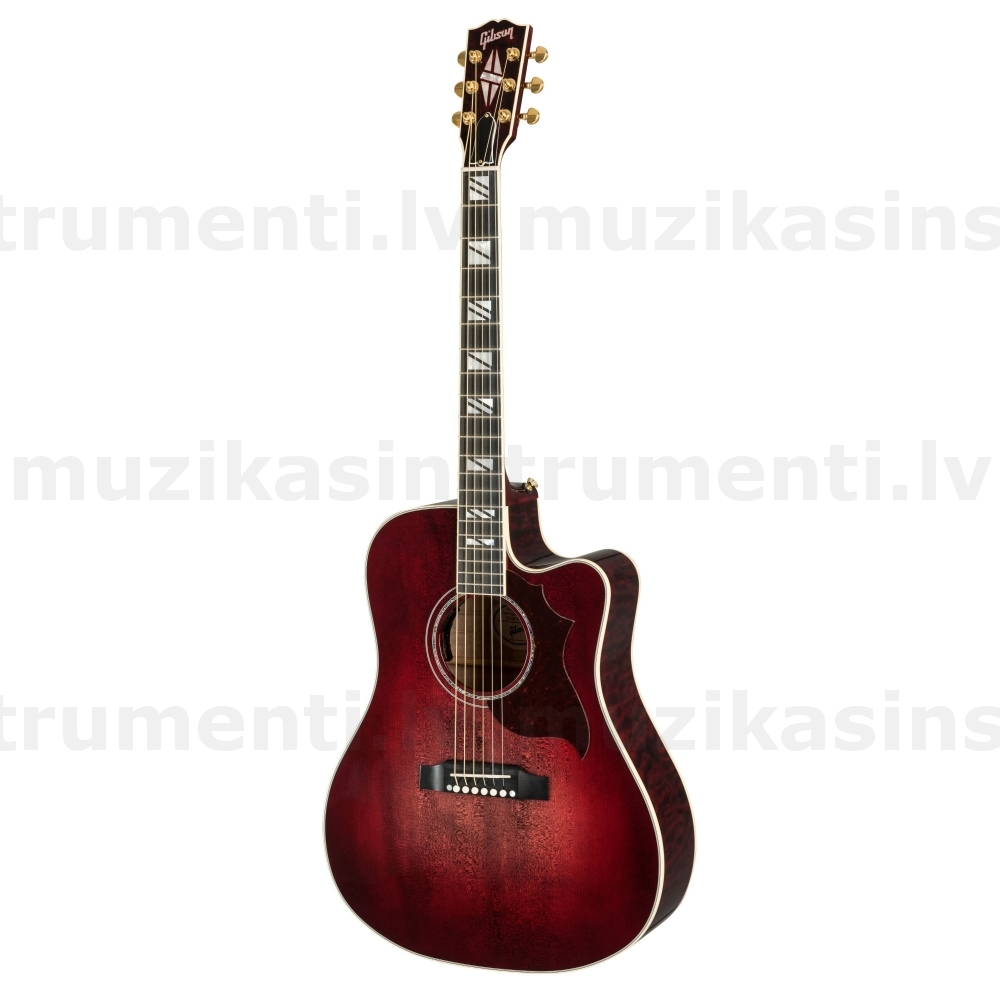 Gibson Songwriter Chroma Quilt Maple Black Cherry