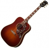 Gibson 1960 Hummingbird Adj Saddle Heritage Cherry Sunburst