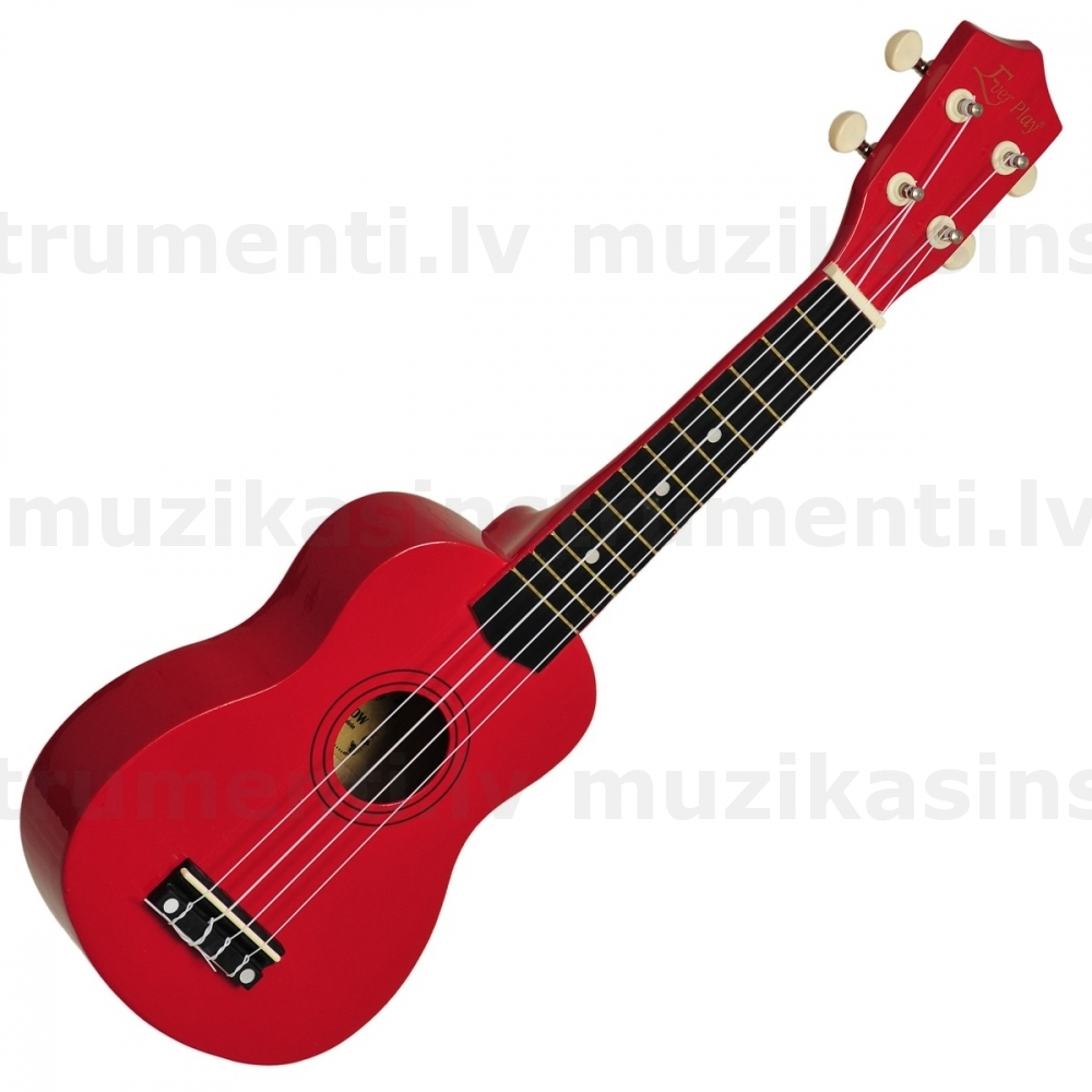 Soprano Ukulele Gloss Red