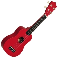 Soprano Ukulele Matt Red