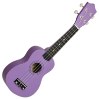 Soprano Ukulele Matt Purple