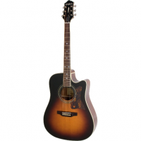 Epiphone DR-500MCE Acoustic/Electric (Square Shoulder) Vintage Sunburst