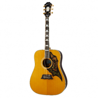 Elektro akustiskā ģitara Epiphone Masterbilt Excellente Antique Acoustic Guitar in Natural Aged Gloss