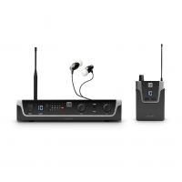 LD Systems U305.1 IEM HP In-Ear Monitoring System with Earphones - 514 - 542 MHz