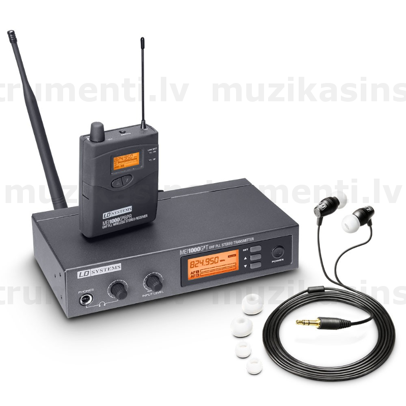 LD Systems MEI 1000 G2 In-Ear Monitoring System wireless