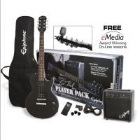 Epiphone Les Paul Player pack Ebony