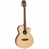 Tanglewood DBT SFCE BW  semi-acoustic guitar