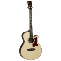 Tanglewood TW45 H SR E semi-acoustic guitar
