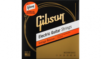 Elektriskās ģitāras stīgas Gibson Vintage Reissue Electric Guitar Strings 11-50 Medium