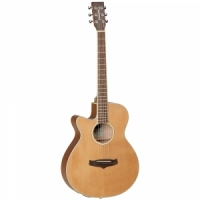 Tanglewood TW9 E LH semi-acoustic guitar