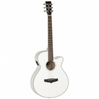 Tanglewood TSF CE WH  semi-acoustic guitar