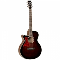 Tanglewood TW4 E WB LH  semi-acoustic guitar