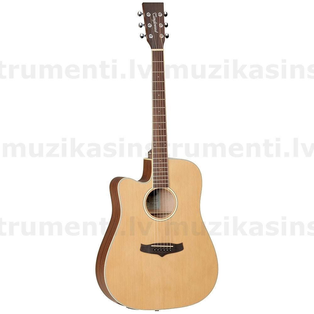 Tanglewood TW10 E LH  semi-acoustic guitar