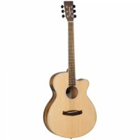 Tanglewood DBT SFCE PW  semi-acoustic guitar