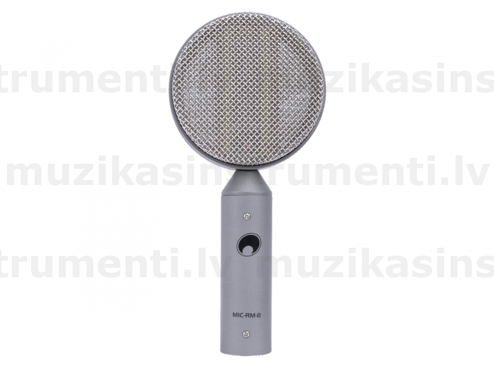 OMNITRONIC MIC RM-8 Ribbon Microphone 'Lolly'