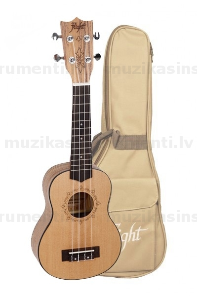 Soprāna ukulele Flight DUS320 SP/ZEB